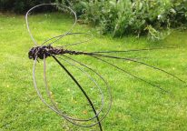 hand made willow dragonfly